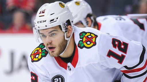 Alex DeBrincat '16 Leads Blackhawks to Comeback Win over Panthers