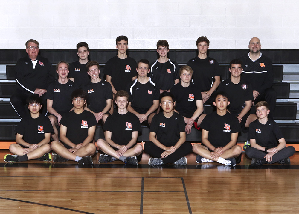 Spring 2019 JV Boys Tennis team