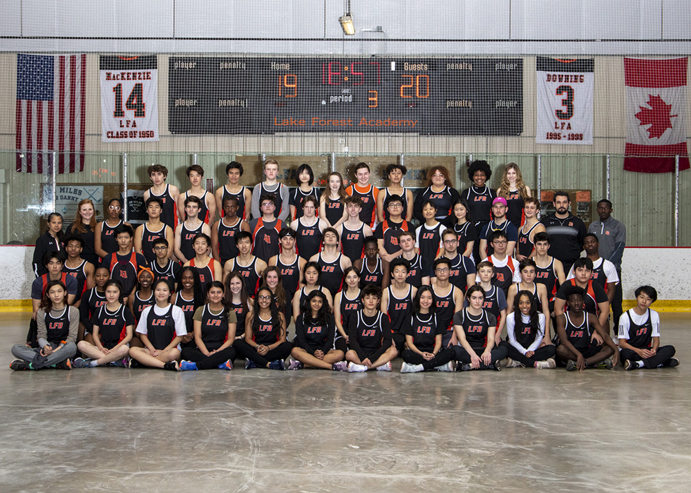 Spring 2020 Track and Field team